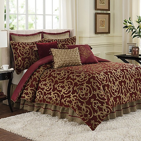 Veratex Byzantine Reversible Comforter Set Bed Bath amp Beyond