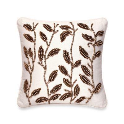 Sedona Berkshire Beaded Oblong Toss Pillow