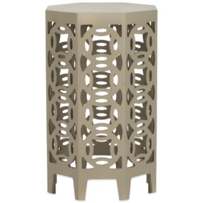 Safavieh Garion Side Table in Pearl