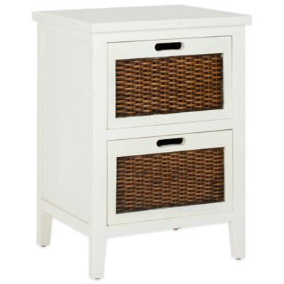 Safavieh Jonah End Table in White