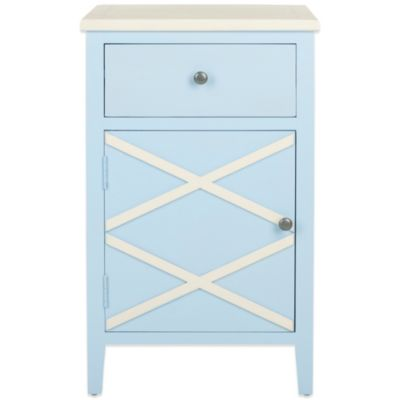 Safavieh Alan End Table in Light Blue