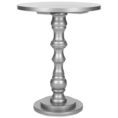 Silver Accent Tables