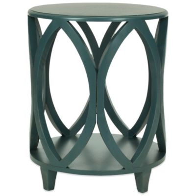 Janika Accent Table in Blue