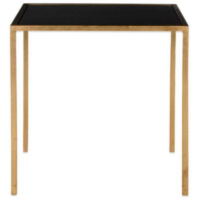 Safavieh Kiley Accent Table in Gold/Black