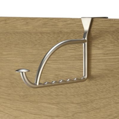 Stratford Series™ Satin Nickel Finish Over-the-Door Valet Hook