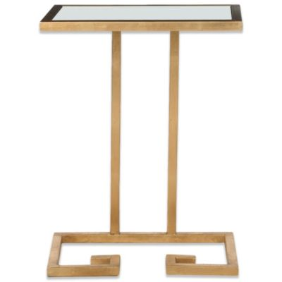 Safavieh Murphy Accent Table in Silver/Mirror