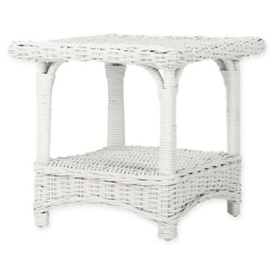 Safavieh Bowen Side Table in White