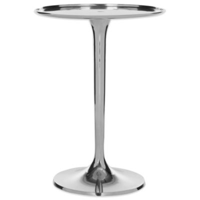 Safavieh Platina Sleek Table in Silver