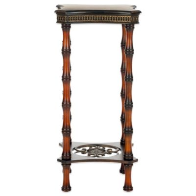 Safavieh Blanch Side Table in Dark Brown