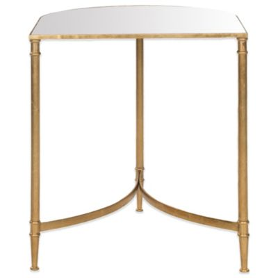 Safavieh Nevin Accent Table in Gold