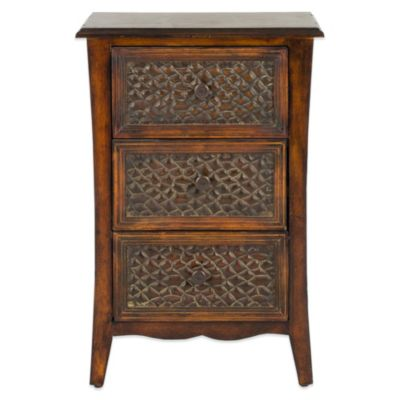Safavieh 3-Drawer Clarence End Table