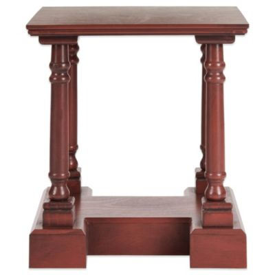 Red Accent & End Tables