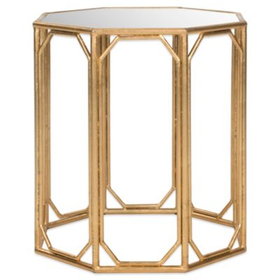 Safavieh Muriel Accent Table in Gold