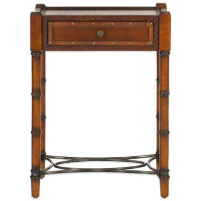 Safavieh Patrick End Table in Dark Brown