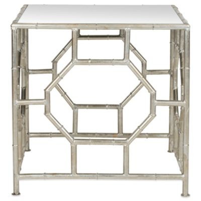 Safavieh Rory Accent Table in Silver