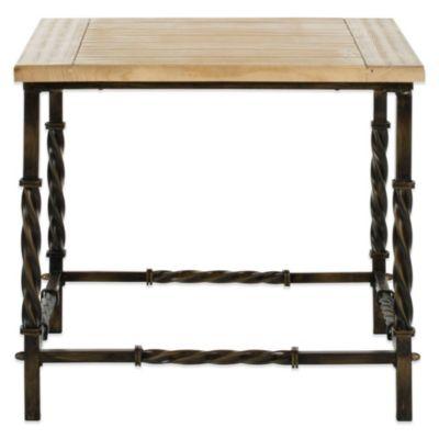 Safavieh Tonya Side Table in Natural