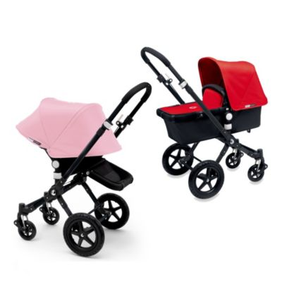 Bugaboo Cameleon3 Canvas Tailored Fabric Set in Soft Pink