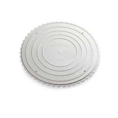 14-Inch Round Garden Cake Stand Plate