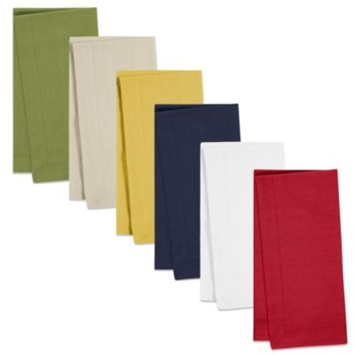 100% Cotton Napkins in Dijon (Set of 4)