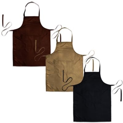 Park B. Smith® Watershed® Faux Suede Apron in Black