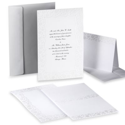 Wilton® Flirty Fleur Design-Your-Own Invitation Kit