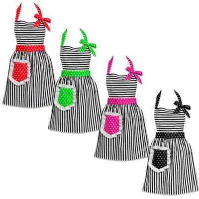 Carolyn's Kitchen Dorothy Apron in Lime Green