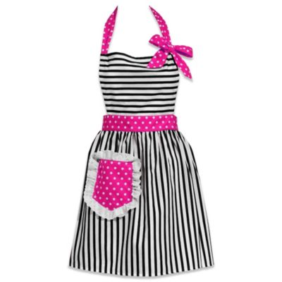 Carolyn's Kitchen Dorothy Apron in Hot Pink