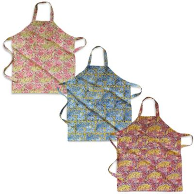 Grey/Red Kitchen Aprons