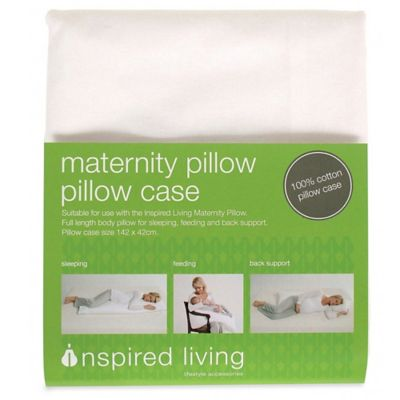 Inspired Mother Maternity 100% Cotton Pregnancy Pillow Case