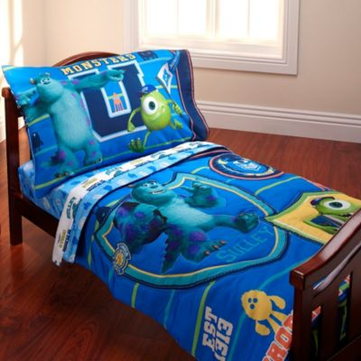 "Disney ""Monsters University"" 4-Piece Toddler Bedding Set"