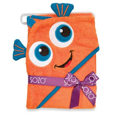 Sozo® Fish Hooded Towel
