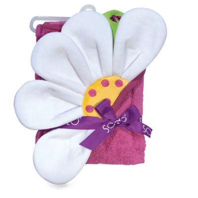 Flower Hooded Towel