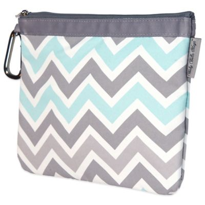 Baby Bella Maya™ Diaper Clutch in Peek-a-Blue