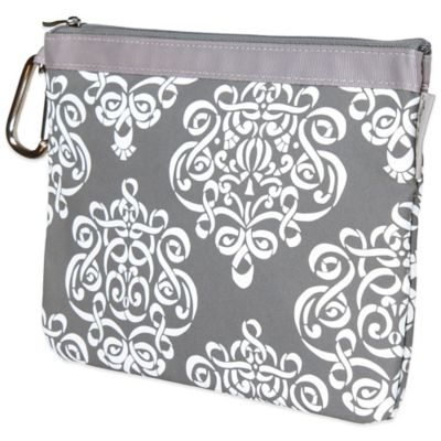 Baby Bella Maya™ Diaper Clutch in Royal Mist