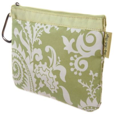 Baby Bella Maya™ Diaper Clutch in Sweet Pea