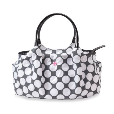 JP Lizzy Allure Diaper Bag in Polka Dot