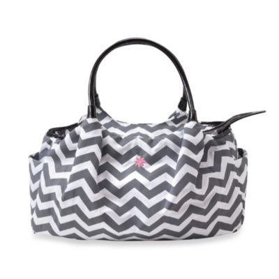 JP Lizzy Allure Diaper Bag in Chevron