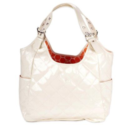JP Lizzy Satchel Diaper Bag in Dreamsicle
