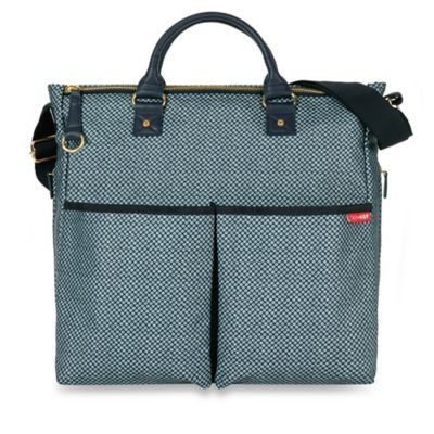 SKIP*HOP® Duo Special Edition Diaper Bag in Blue Pinpoint
