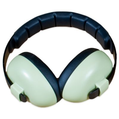 Baby Banz Size 0-12 Years earBanZ Hearing Protection in Baby Green