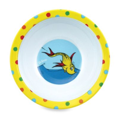 Bumkins® Dr. Seuss One Fish Two Fish Melamine Bowl