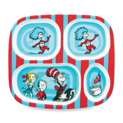 Bumkins® Dr. Seuss Melamine Plate in Cat in the Hat