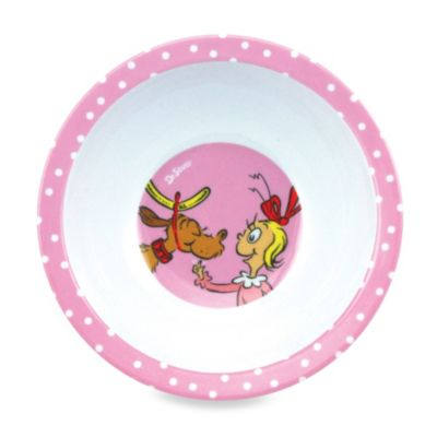 Bumkins® Dr. Seuss Melamine Bowl in Cindy Lou Who