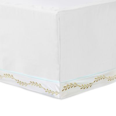 White Lime Bed Skirt