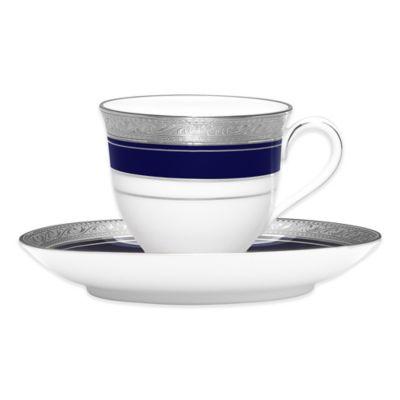 Blue Plate Saucer