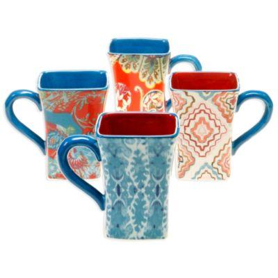 Tracy Porter® Poetic Wanderlust® French Meadow Mug (Set of 4)
