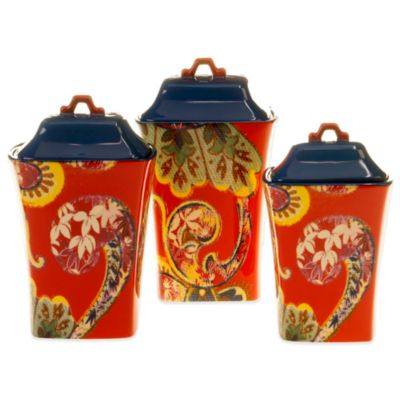 Tracy Porter® Poetic Wanderlust® French Meadow 3-Piece Canister Set