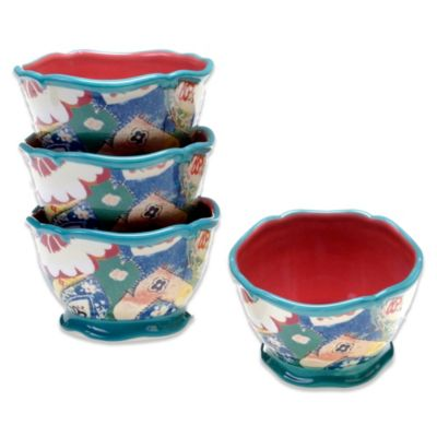 Tracy Porter® for Poetic Wanderlust® Ice Cream Bowl in Scotch Moss (Set of 4)