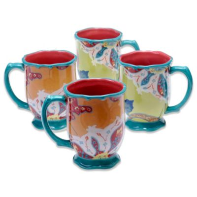 Tracy Porter® for Poetic Wanderlust® 18 oz. Mug in Scotch Moss (Set of 4)
