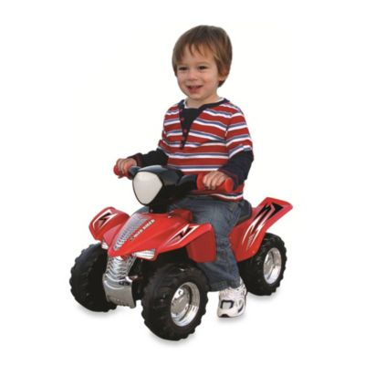 LIL Quad Rider with Sound and Lights in Red